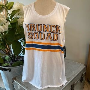 NWT Chaser brunch squad tank top